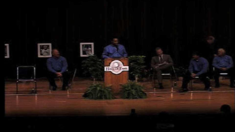 College Hall inducts Larkin