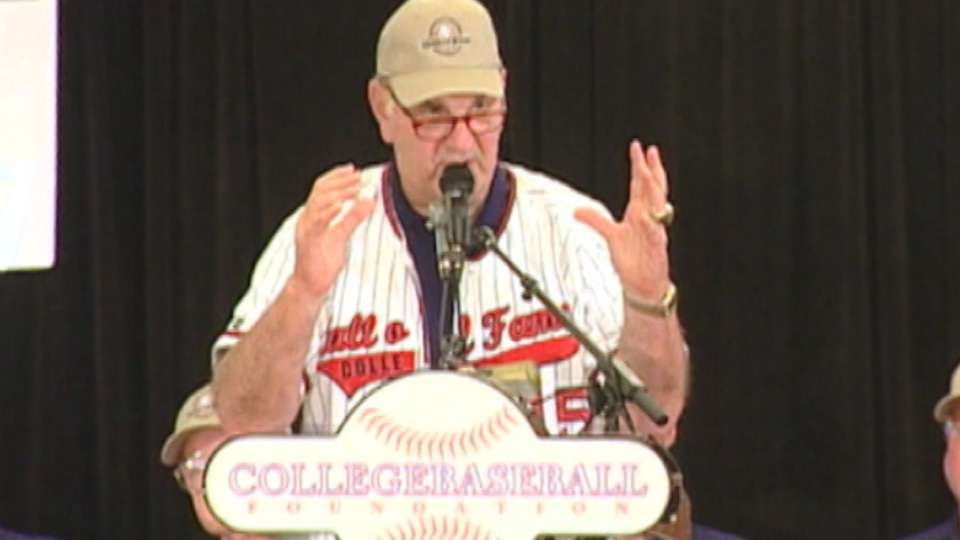 Skip Bertman induction speech
