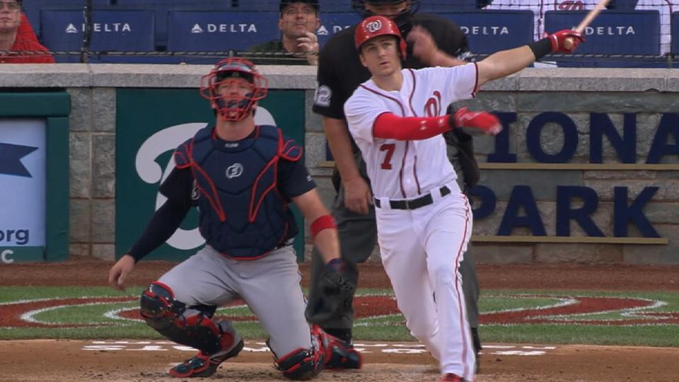 Turner a cog in Nats' lineup
