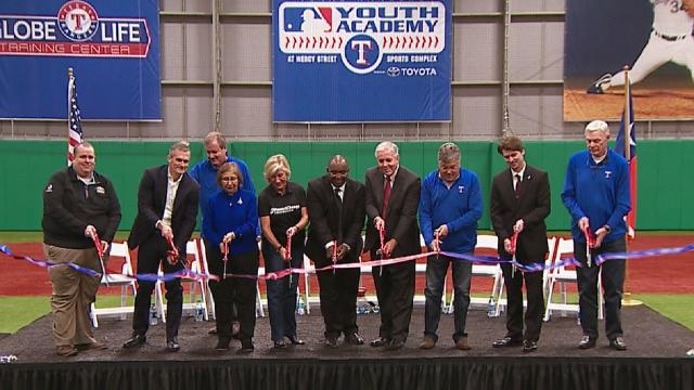 Rangers mlb youth academy officially opens texas rangers fandeluxe Images