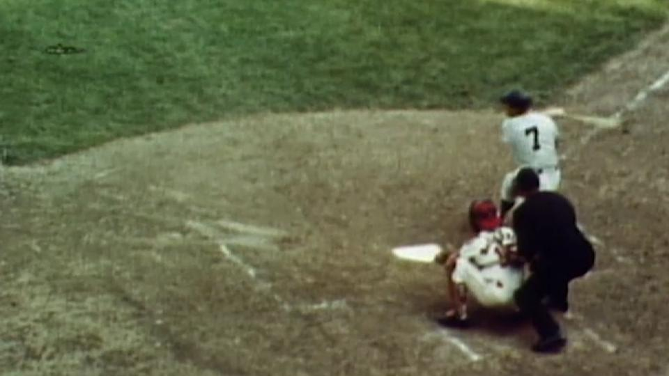 Mantle's last World Series homer