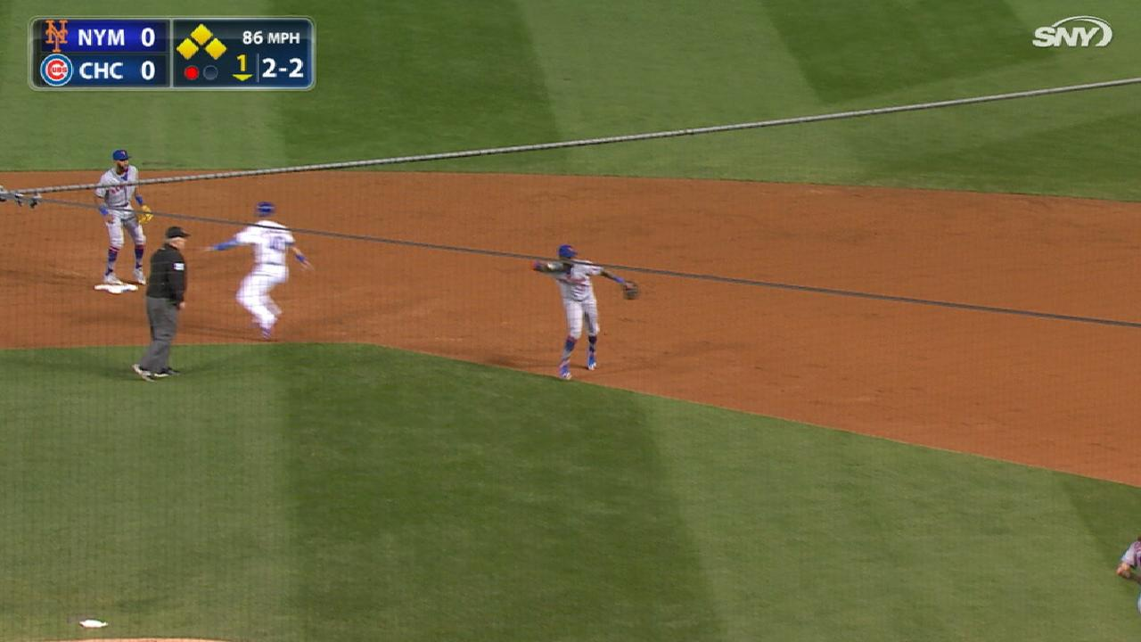 Reyes Crafty Double Play