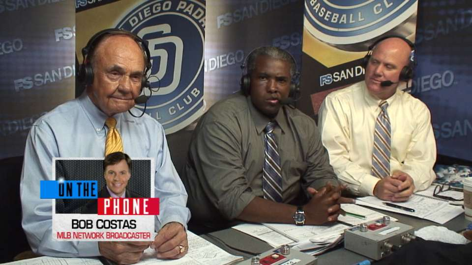 Costas pays tribute to Enberg