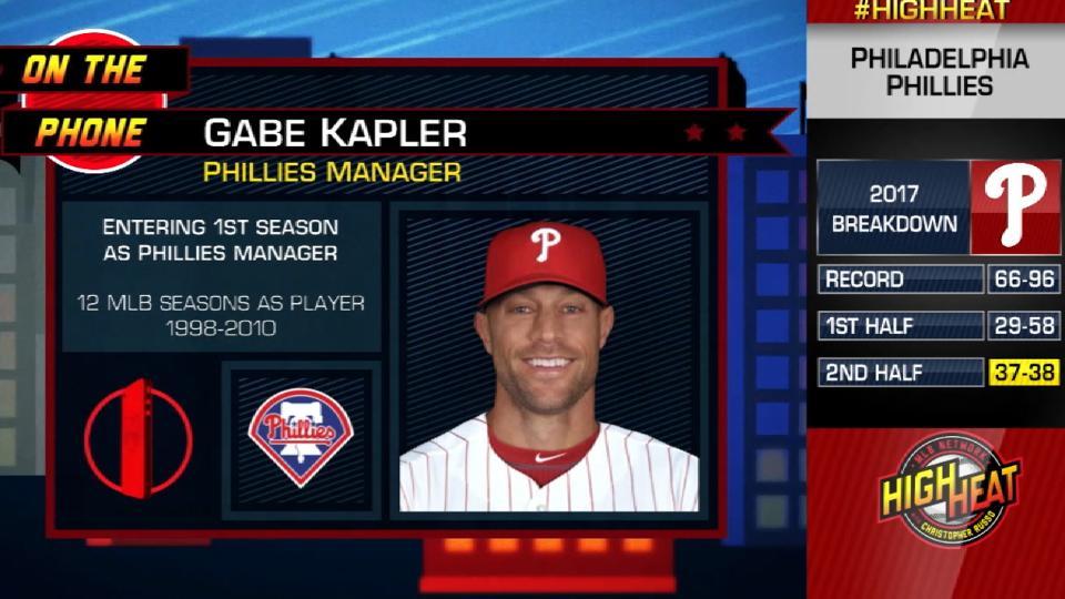 Gabe Kapler joins High Heat