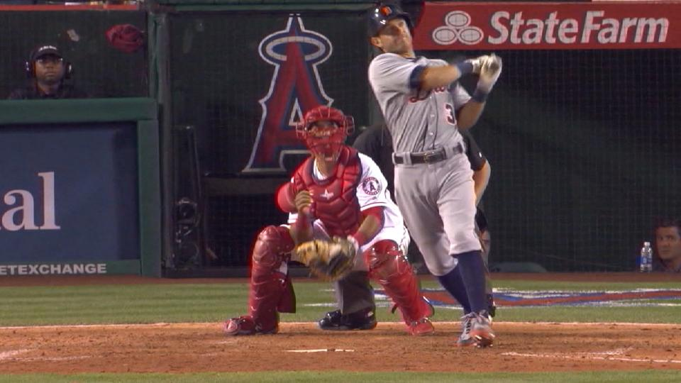 Halos flaunting new-look infield