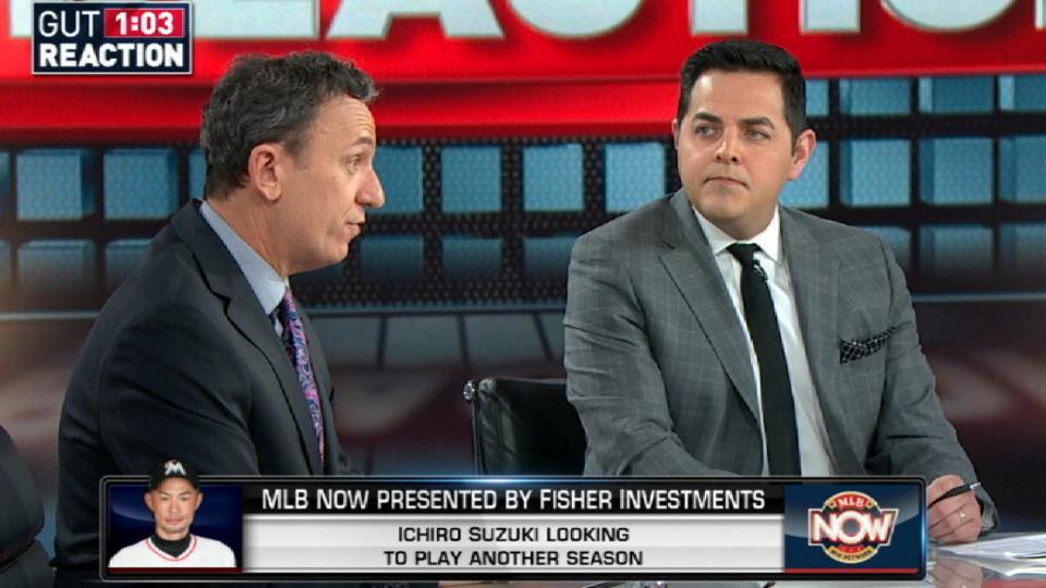 MLB Now: Ichiro's future