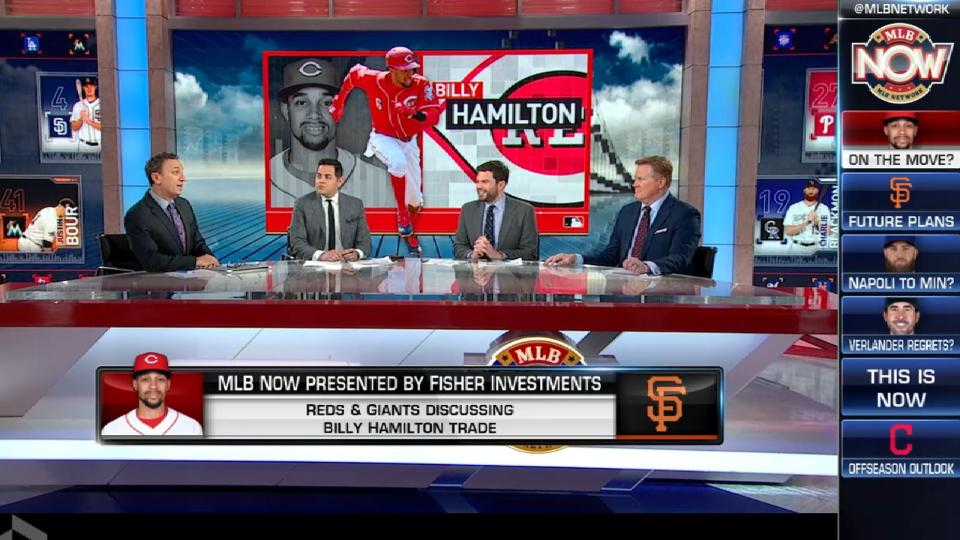 Reds, Giants in trade talks
