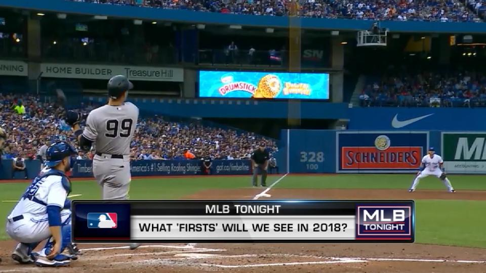 MLB Tonight: 2018 Firsts