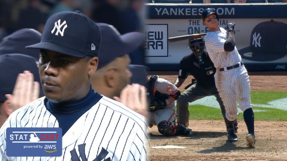 Best of Statcast: Yankees