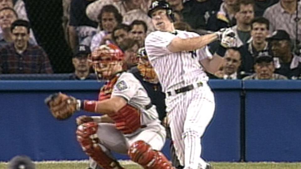 Brosius' two-run home run