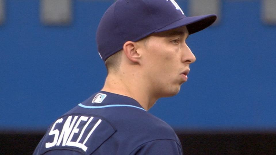 Snell's strong second half