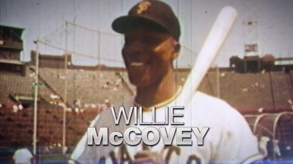 Giants' Willie McCovey is Mr. San Francisco