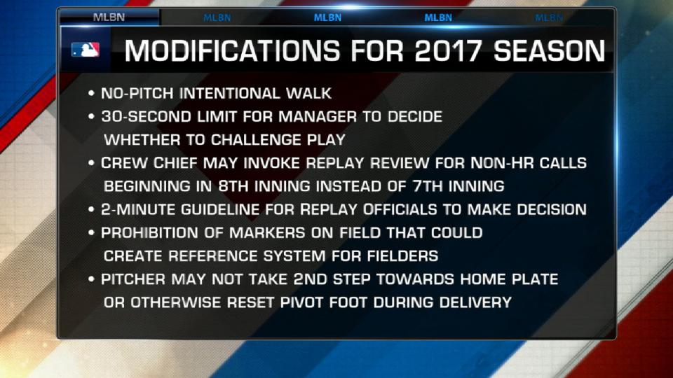 Rosenthal on 2017 rules changes