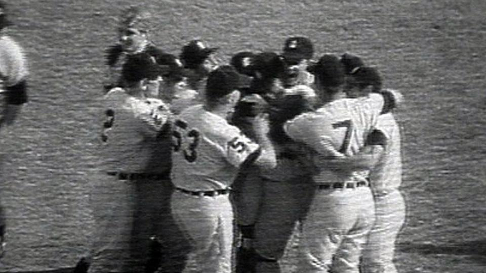 Tigers win the Series