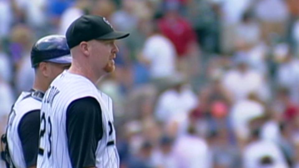 Cook dazzles on mound, at dish
