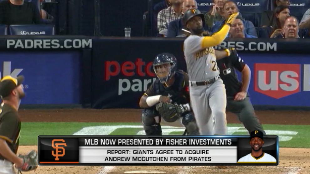 Pirates, Giants agree to McCutchen trade