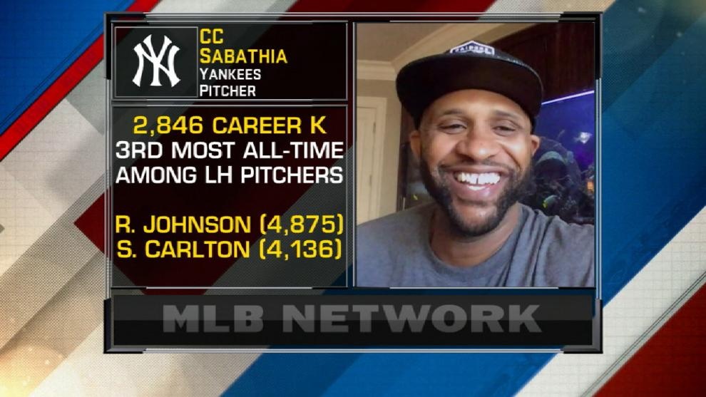 """C.C. Sabathia on Yankees resurgence: """"Getting Giancarlo gets us back to being that hated team; that's what we like"""""""