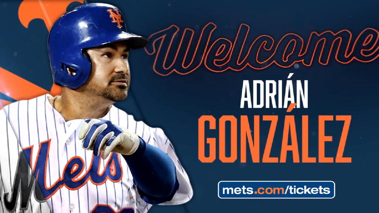 Adrian gonzalez ready to go for new york mets mlb the mets welcome adrian gonzalez malvernweather Gallery