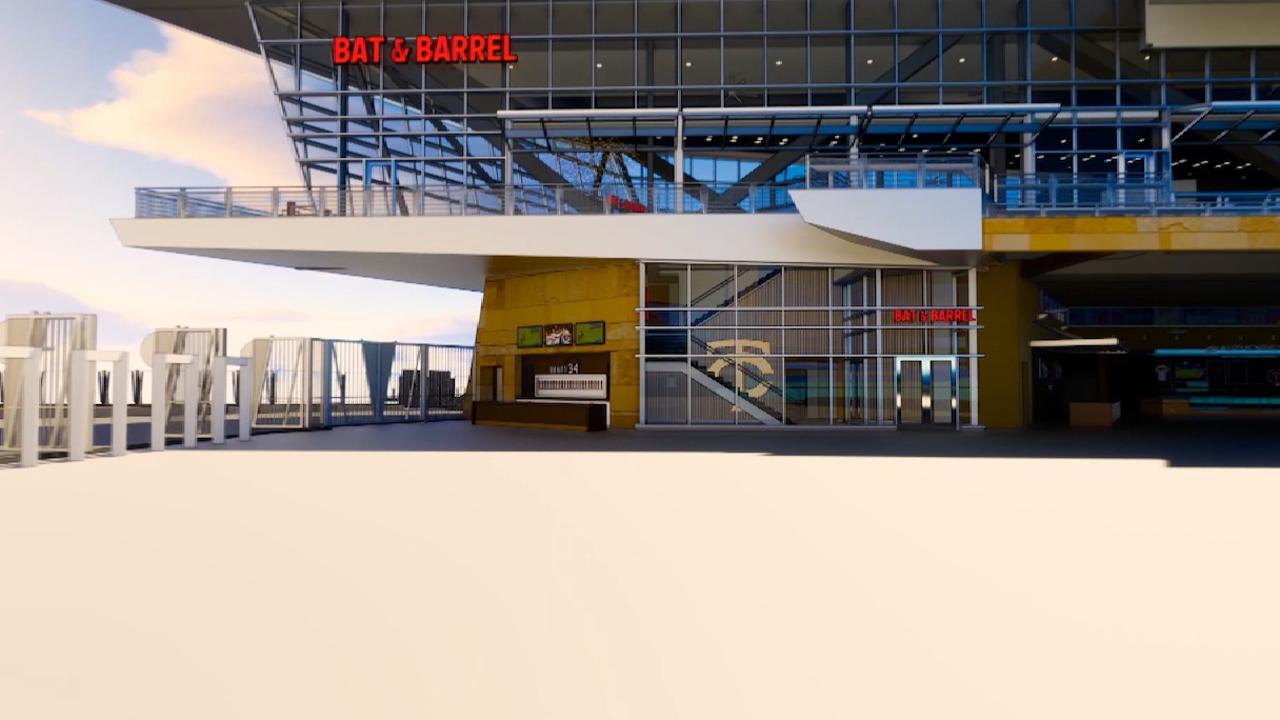 Bat Barrel At Target Field