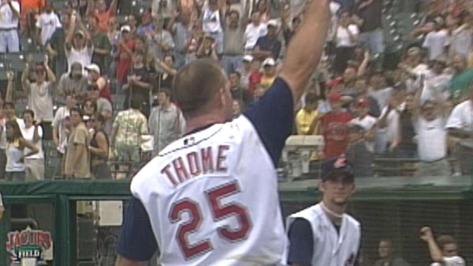 Thome's amazing Indians years