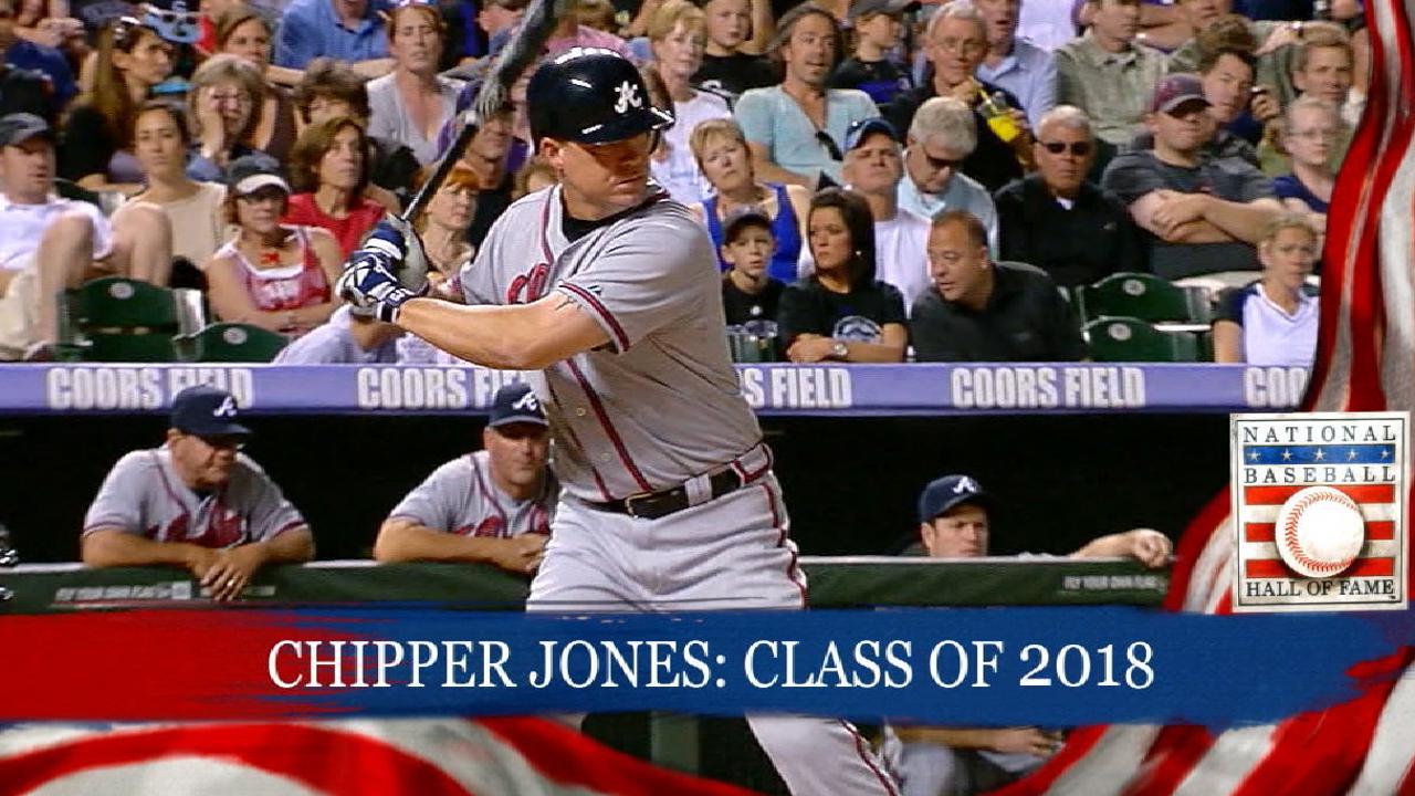 Class Of 2018 Hall Of Fame Atlanta Braves