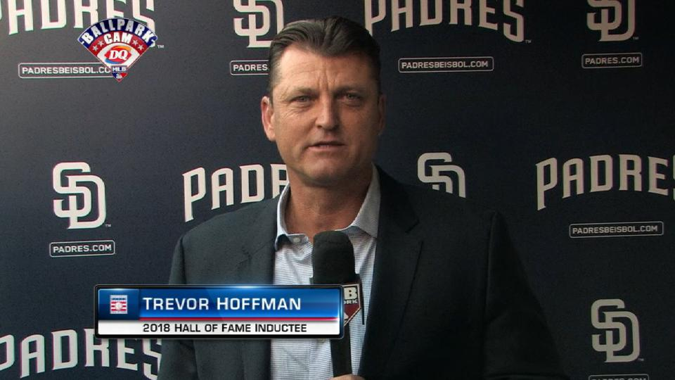 Hoffman discusses his emotions