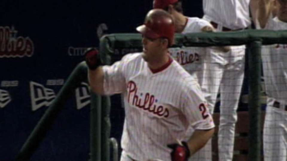 Thome on years with Phillies