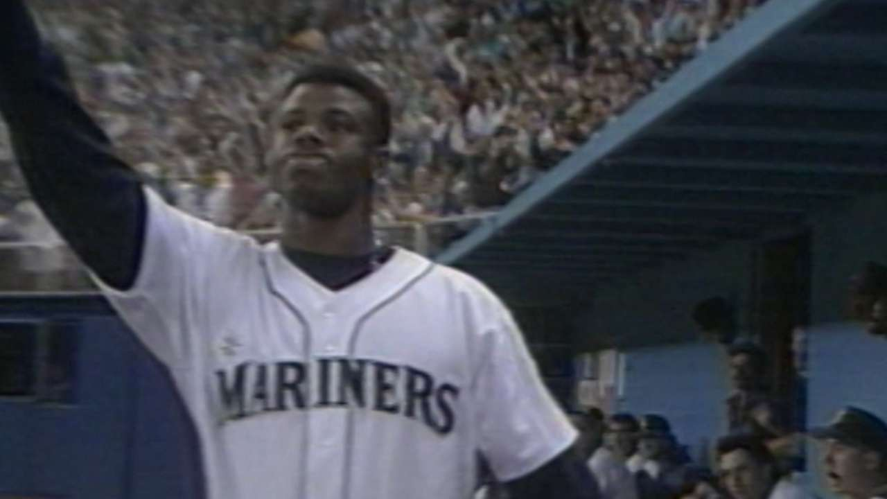 Consecutive Home Run Games 1986 Honda Elite 80 Wiring Diagram Griffey Homers In Eight Straight