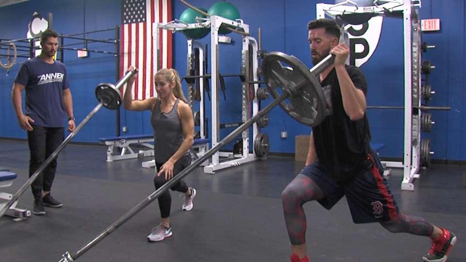 Porcello's offseason workout