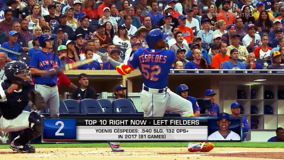 Top 10 LF right now: Cespedes