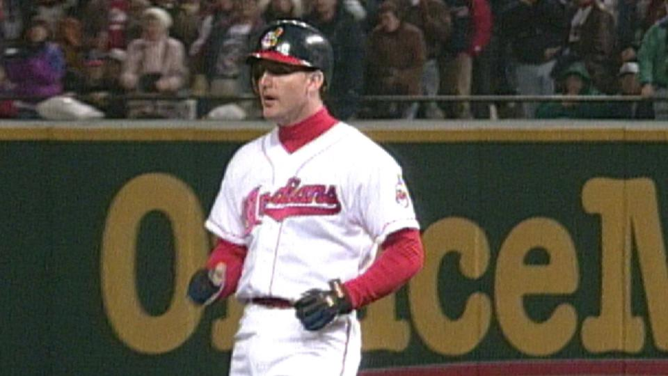 Thome's first World Series hit