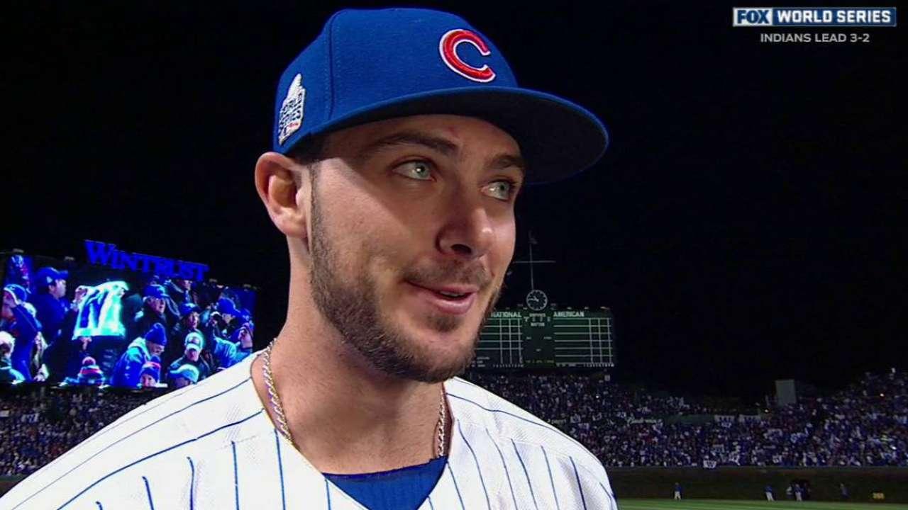 e7c82cc43ab Kris Bryant homer could be Cubs  latest jolt