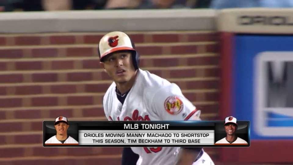 MLB Tonight: Machado to SS