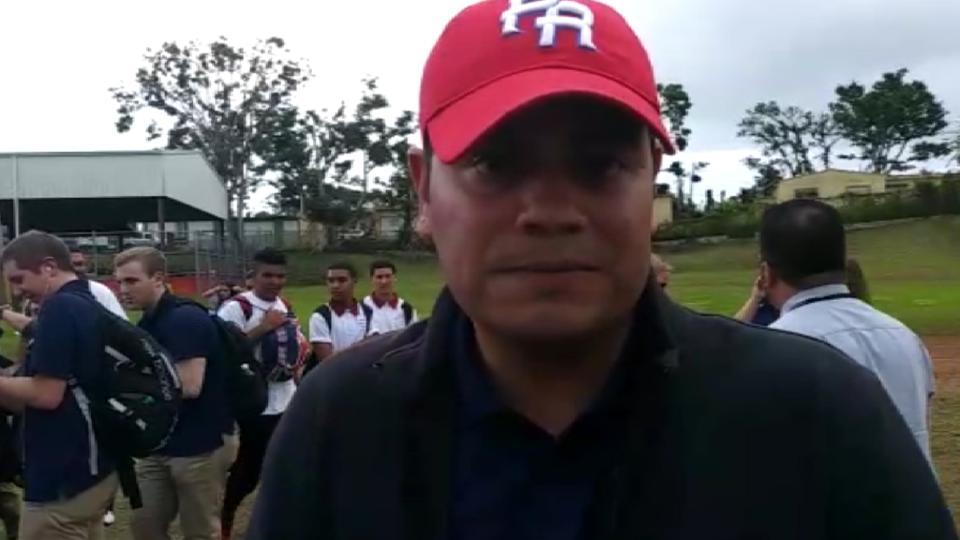 Romero sobre el viaje al P.R.