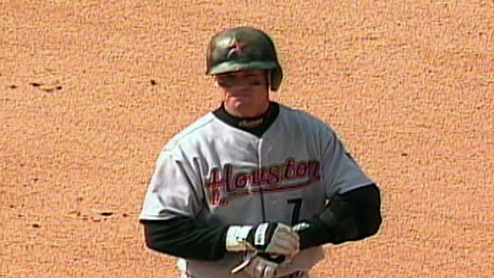 Biggio hits for the cycle
