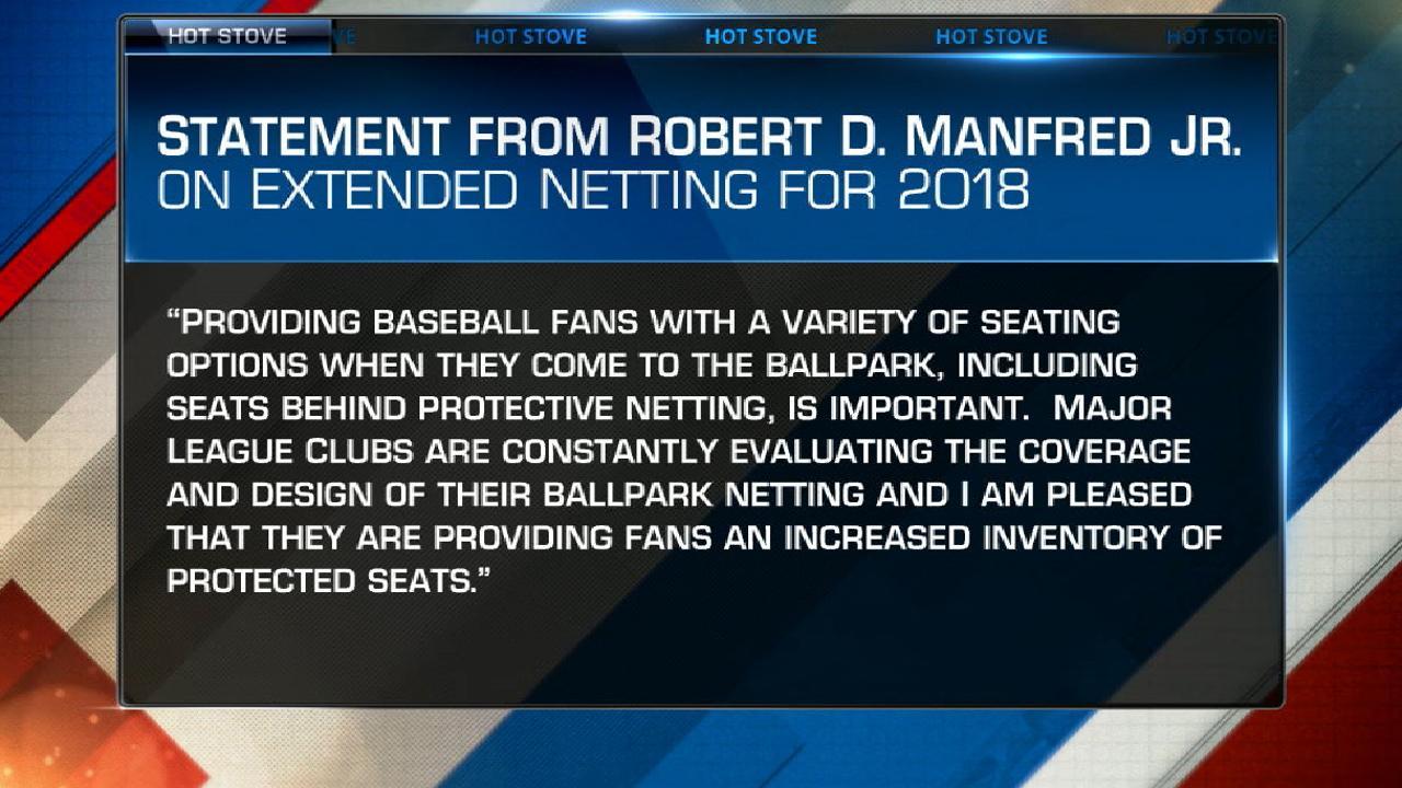 All Mlb Ballparks Will Have Extended Netting Mlb