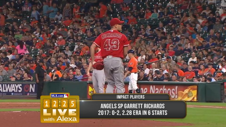 Richards' impact with the Angels