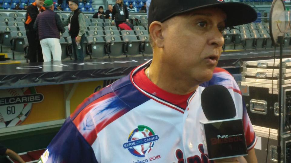 Rivera sobre Licey-Aguilas