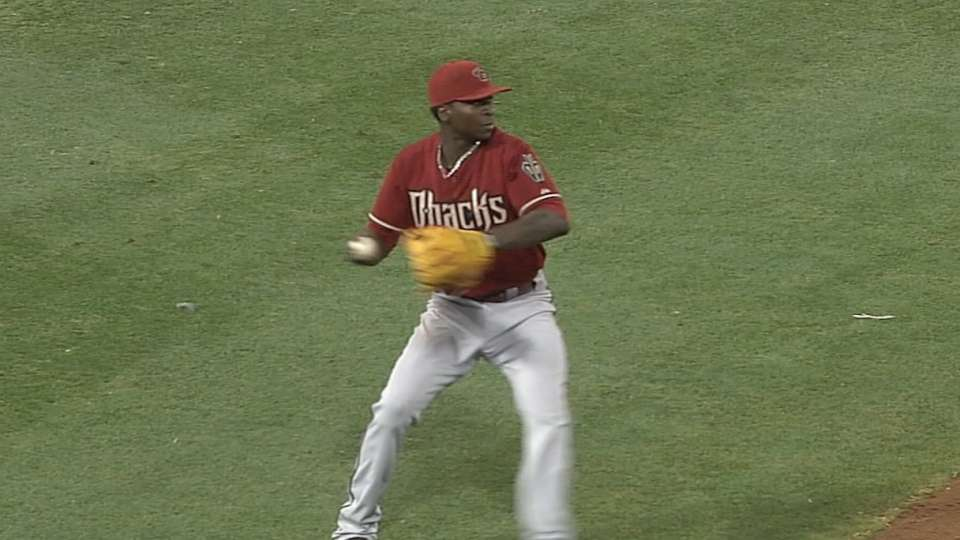 Gregorius' strong throw