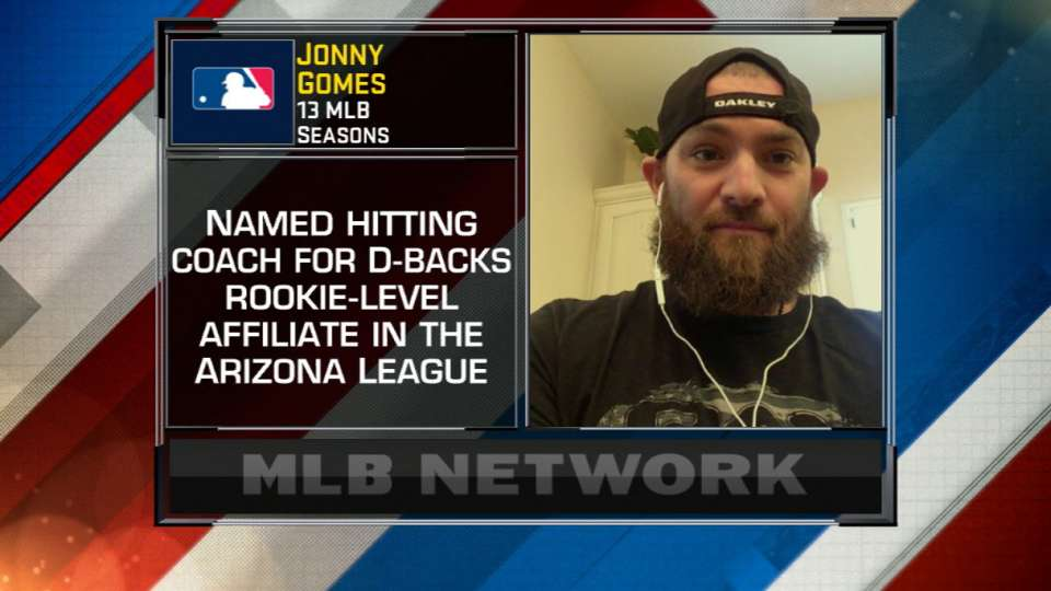 Gomes on new role with D-backs
