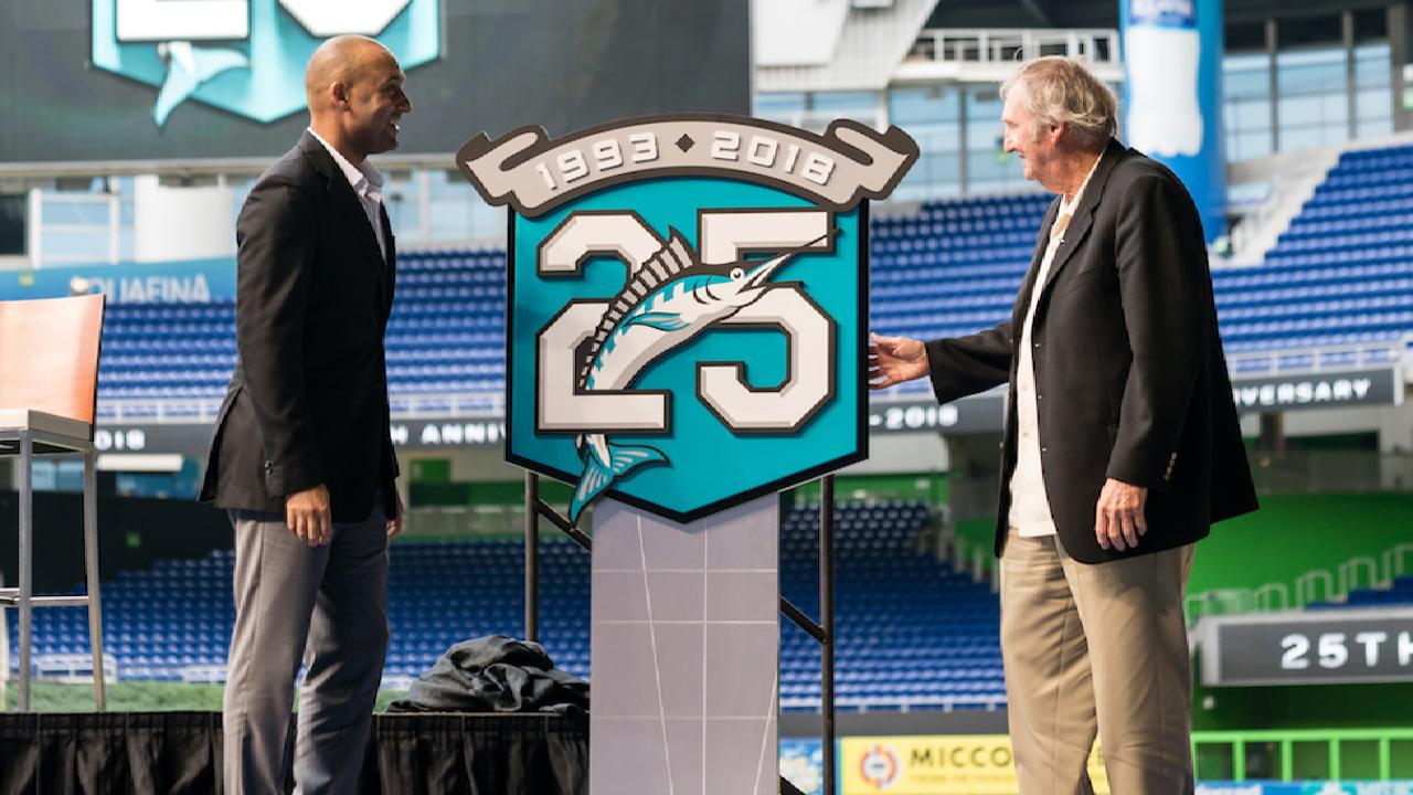 Marlins on 25th anniversary