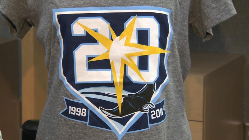 Rays to celebrate 20th season