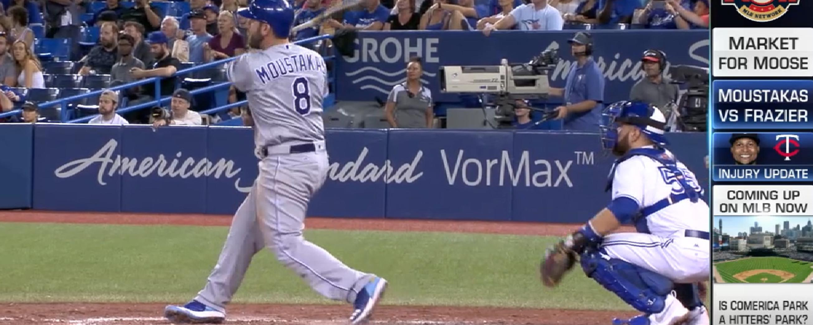MLB Now on Moustakas, Moore