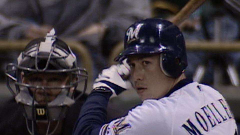 Moeller hits for cycle in 2004