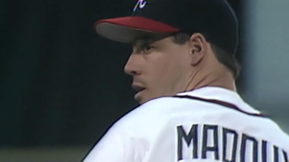 Maddux joins the 1990s Braves