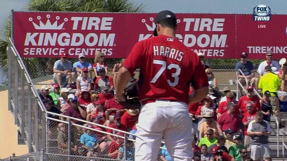 Harris on path back to baseball