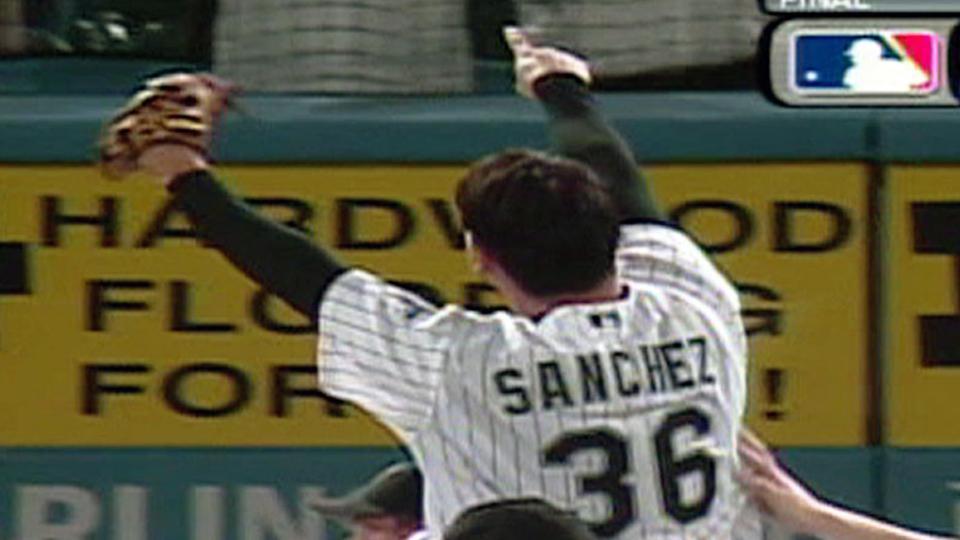 Sanchez tosses no-no vs. D-Backs