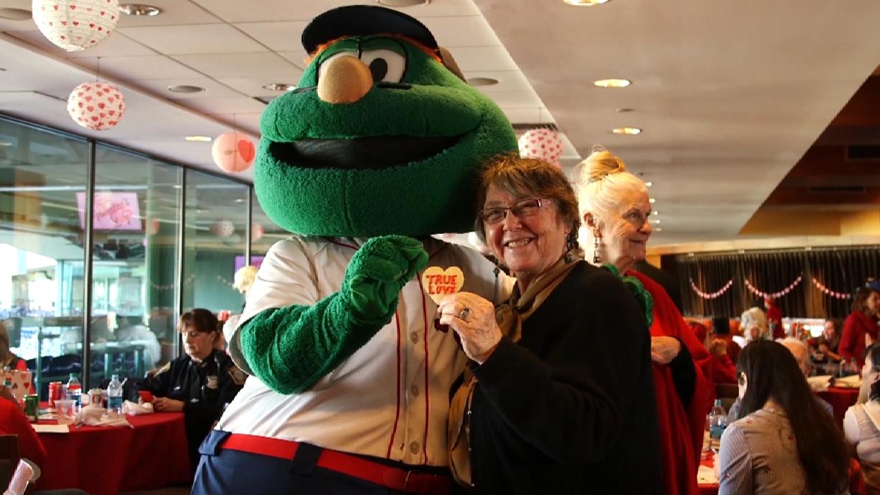 The Red Sox Hosted A Valentine S Day Dance For Local Seniors And It