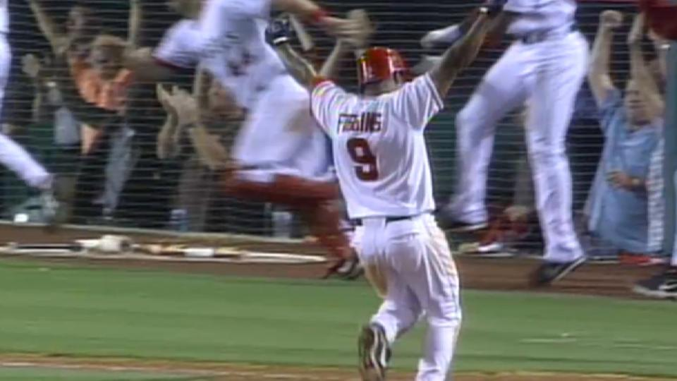 Figgins collects six hits