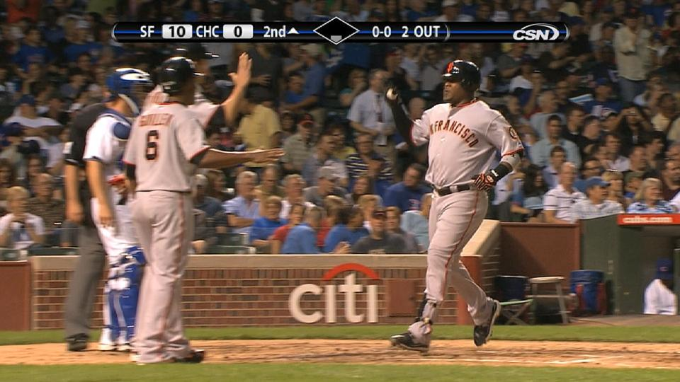 Uribe homers twice in second
